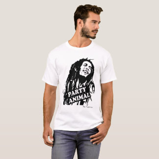 The Puppeters Premium Quality Mens Party Animal T-Shirt