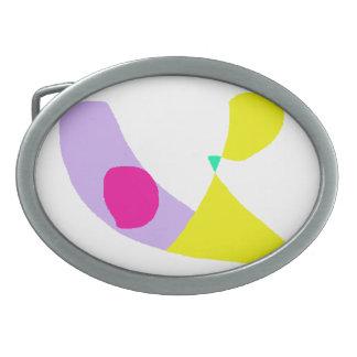The Purple Banana Oval Belt Buckles