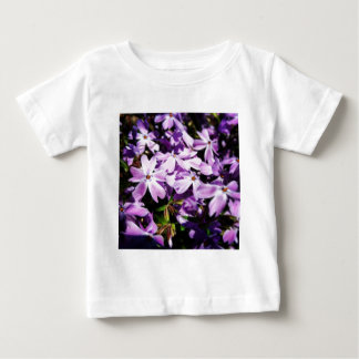 The Purple Flower Patch Baby T-Shirt