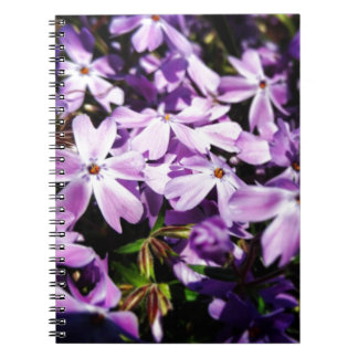 The Purple Flower Patch Note Book