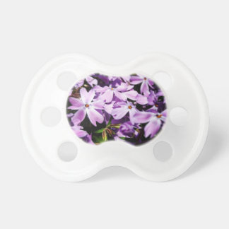 The Purple Flower Patch Pacifier