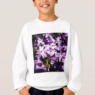 The Purple Flower Patch Sweatshirt