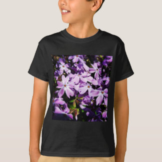 The Purple Flower Patch T-Shirt