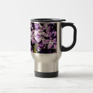 The Purple Flower Patch Travel Mug