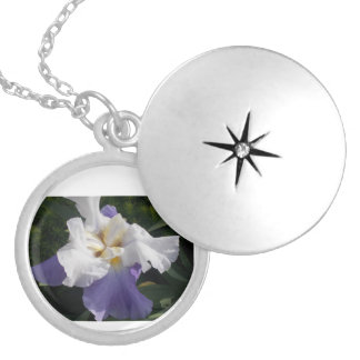 The Purple Iris Necklace