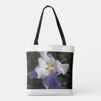 The Purple Iris Tote Bag