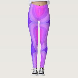 The Purple Swirl Leggings