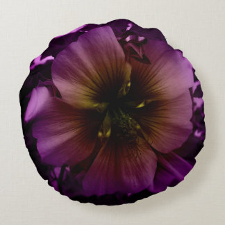 The Purps Round Pillow
