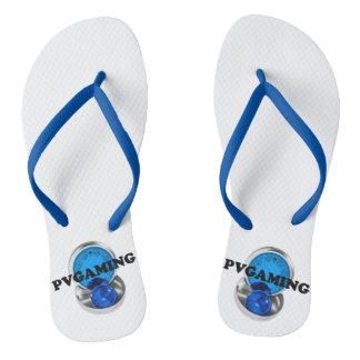 THE PVGAMING ORIGINAL LIMITED EDITION SLIPPERS FLIP FLOPS