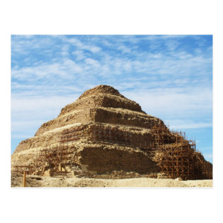 The Pyramid of Djoser - Saqqara,  Egypt Postcard
