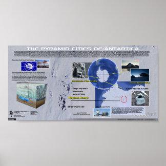 The Pyramids of Antarctica Poster