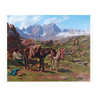 The Pyrenees by Rosa Bonheur Postcard