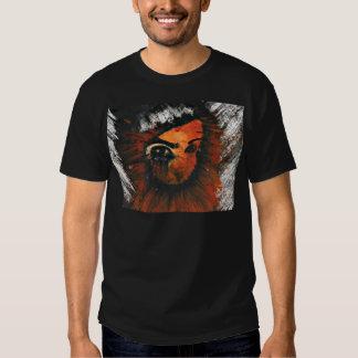 The Pyrophobic Horned Clown. T-shirts