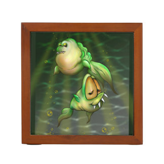 THE PYROS FISHS CARTOON Desk Organizer