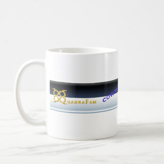 The Quad Cup Basic White Mug
