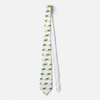 The Quaker Parrot Tie