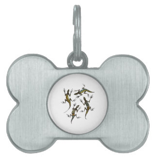 THE QUARTET PET NAME TAG