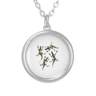 THE QUARTET SILVER PLATED NECKLACE