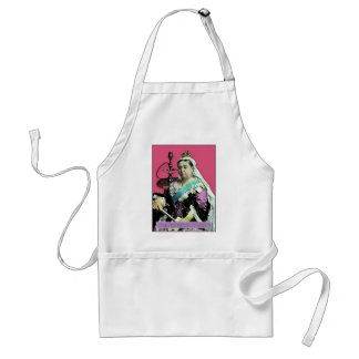 The Queen and The Hookah Standard Apron