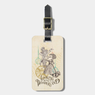 The Queen & Mad Hatter | Looking for Wonderland 3 Bag Tag