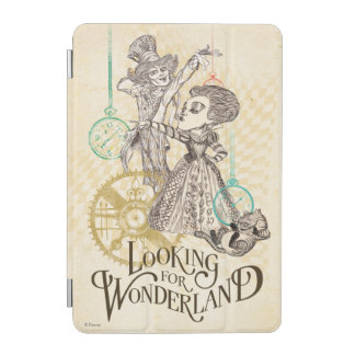 The Queen & Mad Hatter | Looking for Wonderland iPad Mini Cover