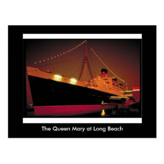 The Queen Mary at Long Beach Postcard