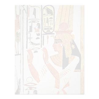 The Queen Nefertari In Prayer Stance By Maler Der Letterhead Template