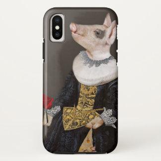 The Queen of Bling - Piglet iphoneX Case