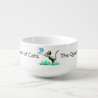 The Queen of Cats Soup Mug