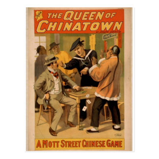 The Queen of Chinatown Postcard