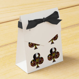 The Queen of Clubs Wedding Favor Box