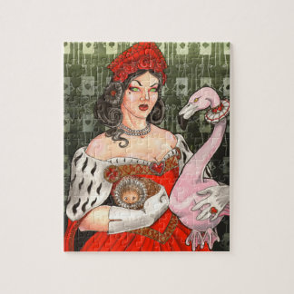 The Queen of Hearts Jigsaw Puzzle