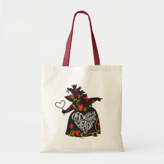 The Queen of Hearts | Off with Their Heads Tote Bag