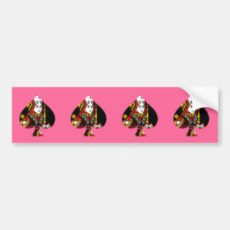 The Queen of Spades Bumper Stickers