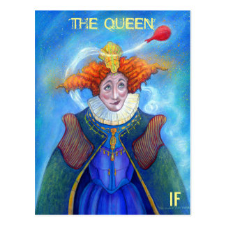 The Queen postcard by Mike Winterbauer