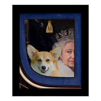 The Queen, the Corgi and the Coach Poster