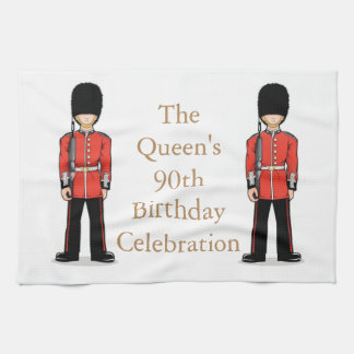 The Queen's 90th Birthday Celebration Kitchen Towel