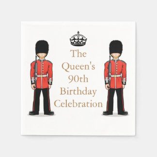 The Queen's 90th Birthday Celebration Paper Napkins