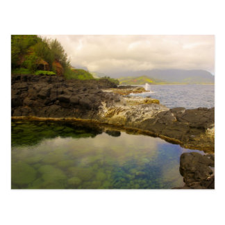 "The ""Queen's Bath,"" Kauai, Hawaii. Postcard"