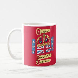 The Queen's Diamond Jubilee Coffee Mug
