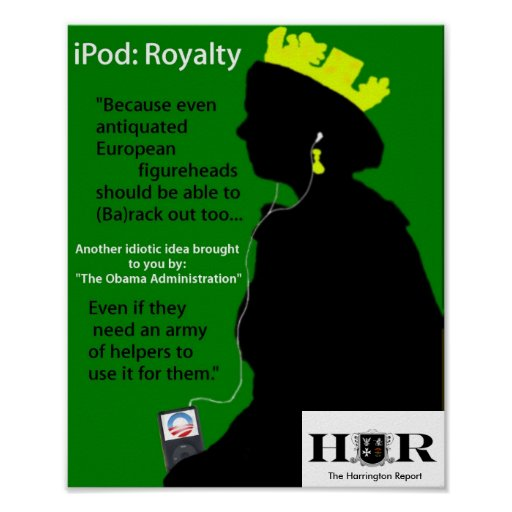 The Queen's iPod Posters