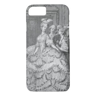 The Queen's Lady-in-Waiting, engraved by P.A. Mart iPhone 7 Case