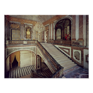 The Queen's staircase, c.1679 Print