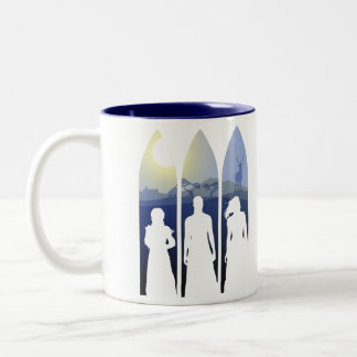 The Quest — Trust the Fates / Evermoon Two-Tone Coffee Mug