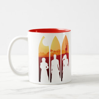 The Quest — Trust the Fates / Harvest Two-Tone Coffee Mug