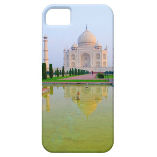 The quiet peaceful World Famous Taj Mahal at iPhone 5 Cases