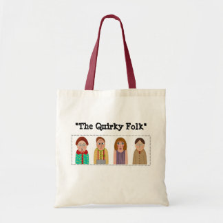 """""""The Quirky Folk"""" Tote Bag"""