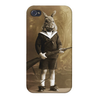 The rabbit hunter case for iPhone 4