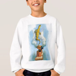 THE RABBIT SENDS IN A LITTLE BILL THE LIZARD SWEATSHIRT