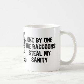 The Raccoons Sanity Coffee Mug